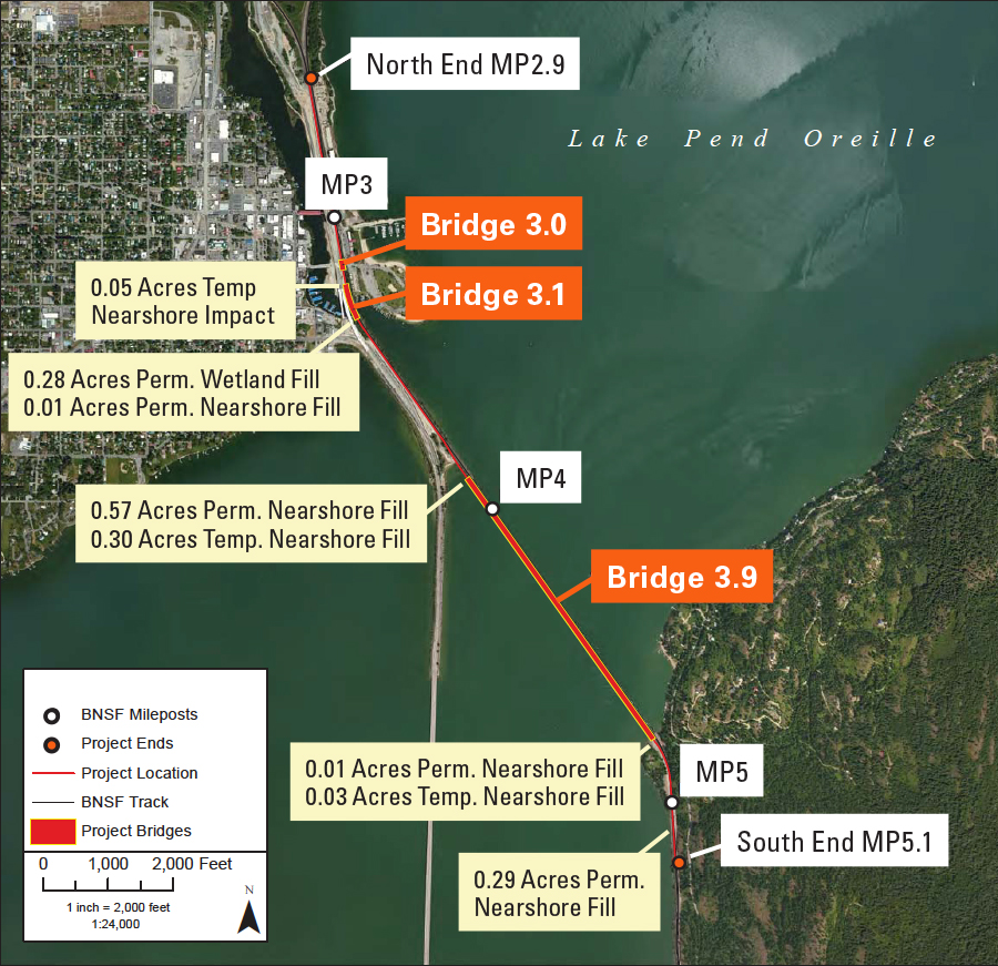 Sandpoint Junction Connector Project Map